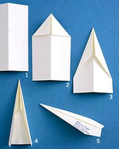 Paper Airplane How-To