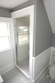 1920s Bathroom Sloped Ceiling Attic Bathrooms With