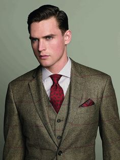 Sharp Hackett Suit