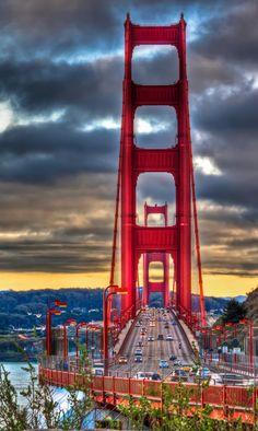 The Golden Gate Bridge, San Francisco United States