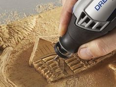 The Dremel 490 Dust Blower offers an innovative solution for improving visibility when . Dremel Werkzeugprojekte, Dremel Wood Carving, Dremel Rotary Tool, Carving Tools, Dremel 3000, Dremel Tool Projects, Wood Projects, Dremel Ideas, Woodworking For Kids