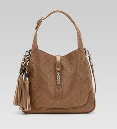 Gucci | Gucci new jackie light brown guccissima leather shoulder bag 1 580x639