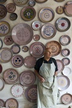 Ceramic pottery Sardinia Sardegna