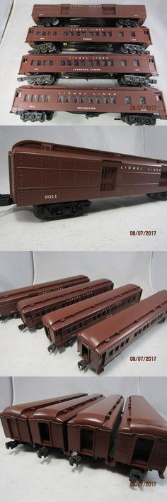 Passenger Cars 122586 Lionel O Scale Trains 6 9578 Silver