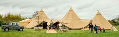 Event Tipi Hire Company, Derby, Midlands - Perfect for a wedfest style wedding