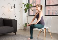 3. Seated Figure-4 Stretch #flexibility #stretches http://greatist.com/move/stretching-exercises-how-to-test-your-flexibility