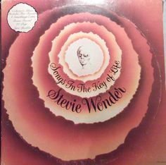 "Stevie Wonder Songs in the Key of Life 7"" Bonus 45 Record Included Vintage Record Album Vinyl LP"