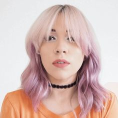 Pastel pink hair  Great for newbies and long-term pastel heads alike, there isn't a skin tone that won't suit pink! So for all those with a bit of a sweet tooth, prepare for candy floss shades and plenty of bubblegum hues (minus the sugar rush!).                  Image credit: @allyinblunderland