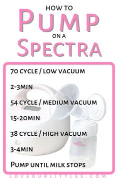 Best Breast Pumps for Exclusive Pumping, On the Go and Beyond! # Pin this to your pumping or breastfeeding board for a handy reference on how to use the Spectra breast pump settings. Baby Boys, Exclusively Pumping, Breastfeeding And Pumping, Dieting While Breastfeeding, After Baby, Pregnant Mom, Baby Hacks, Baby Feeding, Breast Feeding