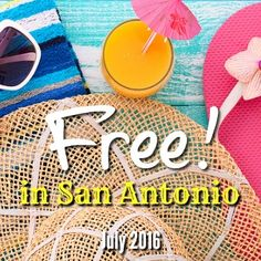 100+ FREE, family-friendly events and activities you can enjoy during summer 2016 in San Antonio! Have fun for free in San Antonio this summer.