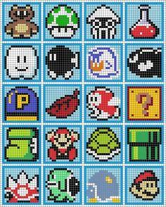 Nintendo Mosaics