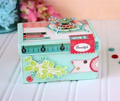 Paper Mache Keepsake Box...