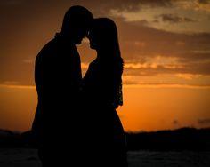 Sunset Silhouette! #DestinBeachPhotography #DestinFL #EmeraldCoast #CouplesPortraits #Beach