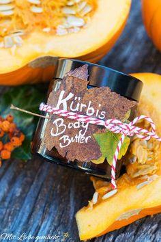 Kürbis Bodybutter mit Zimt und viele andere Grüße vom Herbst an unsere Haut!