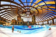 Aquaworld (family friendly, half price at the end of the day) -  Budapest
