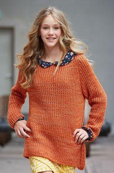 Lana Grossa PULLOVER Stellina - FILATI Teens No. 7 - Modell 41 | FILATI.cc WebShop