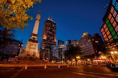Monument Circle - Indianapolis