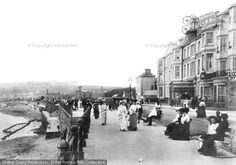 Photo of Penzance, Promenade 1904 from Francis Frith Places In Cornwall, Devon And Cornwall, Cornwall England, British Holidays, British Summer, Great British, Penzance Cornwall, Visit Britain, British Travel
