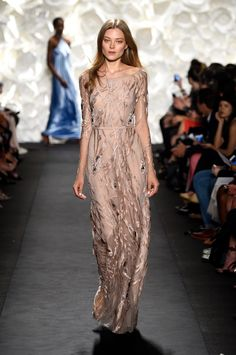 Naeem Khan Spring 2015 from New York Fashion Week