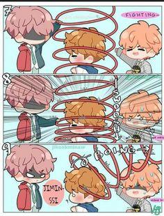 Read VMinKook + YeonTan from the story Short BTS Comic (Truyện tranh ngắn về BTS) by with reads. Namjin, Non Fiction, Jikook Manga, Fanart Bts, Loli Kawaii, Bts Maknae Line, Bts Drawings, Jimin Jungkook, Taehyung