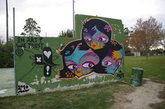 #streetart #goddog  Molécule, via Flickr. Graffiti Characters, Graffiti Styles, Street Art, Character Design, God, Painting, Dios, Painting Art, Praise God