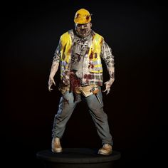 Fat Zombie Model available on Turbo Squid, the world's leading provider of digital models for visualization, films, television, and games. 3d Max, Apocalypse, Hipster, Survival Stuff, Walking Dead, Metals, Model, Anime, Concept