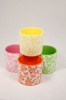 fun plant pots