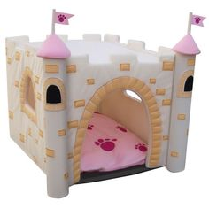 Castle Dog House-Girl.  I would love for my little doggie Mazey