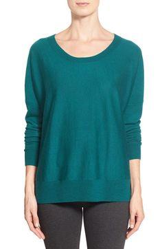 Eileen Fisher Ballet Neck Merino Sweater (Regular & Petite)