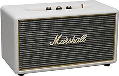 Marshall Acton Wireless Bluetooth Digital Speaker Loudspeaker System - Cream Marshall http://www.amazon.com/dp/B00OHVSNNY/ref=cm_sw_r_pi_dp_JqCTvb1NK4HPB