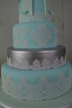 Juliet 3D Lace Mat - Cake Lace Mat By Claire Bowman