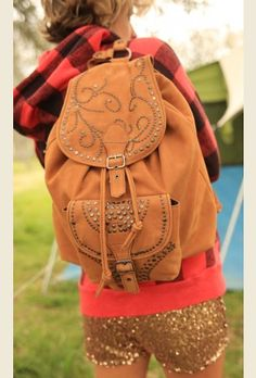 THe EL PASo leather backpack $160 @ Junk Gypsies