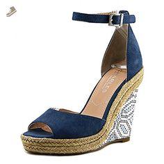 Charles By Charles David Bay Women US 11 Blue Wedge Sandal - Charles by charles david pumps for women (*Amazon Partner-Link)