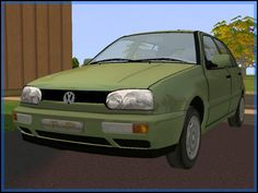Fresh-Prince Creations - Sims 2 - Volkswagen Golf
