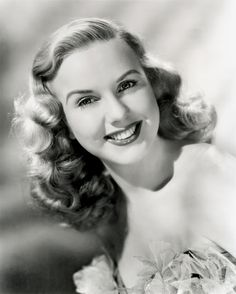 Deanna Durbin 1921-, is a Canadian-born, Southern California-raised retired singer and actress, who appeared in a number of musical films in 1930s and 1940s singing standards as well as operatic arias. She had a beautiful soprano voice. she started out as a child star and retired at the age of  27.