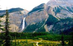 Takakkaw Falls, British Columbia Canada