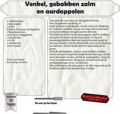 Image titleVenkel, gebakken zalm en aardappelen