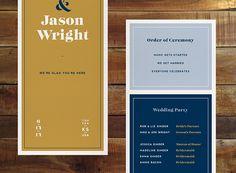 Ginder + Wright Wedding on Behance