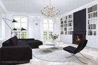 Apartament w gdańskiej kamienicy.