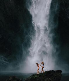 The Great Outdoors: Waterfall in love with Nature Photos) Adventure Awaits, Adventure Travel, Beach Adventure, Nature Adventure, Oh The Places You'll Go, Places To Visit, Tumblr Ocean, Adventure Is Out There, Travel Goals