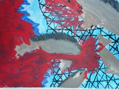Leben  Ich bin ein Fisch und hätte noch so viel zu tun.  Euer Thunfisch  (Schreiben um zu leben, S.15) Painting, Art, Tuna, Pisces, Writing, Life, Art Background, Painting Art, Kunst