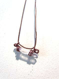 Pendant : Singing Quartz and Copper by BuyGingerWire on Etsy $20