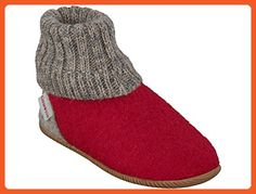 Giesswein Girls' Wildpoldsried Low-Top Slippers Red Size 36 EU - Loafers and slip ons for women (*Amazon Partner-Link)
