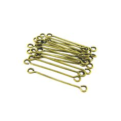 18 Gauge 15 Antique Brass Two Double Sided by FancyGemsandFindings, $2.20