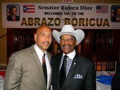 cool Rubén Díaz Jr. y su padre divididos entre Hilary Clinton y Ted Cruz