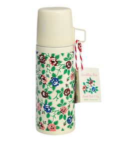 Rambling Rose Flask & Cup by Home Treats from Rex on #zulilyUK today!