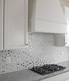 White Modern Metal Gray Glass Backsplash Tile White glossy matte and crackle glass tiles mixed with metal tiles. White glass metal kitchen backsplash tile for elegance idea. Glass Tile Backsplash, Beadboard Backsplash, Kitchen Backsplash, Tiles For Kitchen, Backsplash Arabesque, Hexagon Backsplash, Travertine Backsplash, Herringbone Backsplash, Glass Tiles