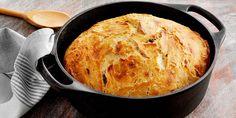 Til denne opskrift skal der bruges en 3 liters gryde. Dough Recipe, Bread Baking, Cornbread, Vegan Recipes, Food And Drink, Easy Meals, Eat, Cooking, Ethnic Recipes