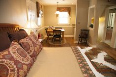 Luxury guest rooms at The Inn at Kitchen Kettle Village live up to their name. Luxury Rooms, Lancaster County, Sleepover, Kettle, Places, Kitchen, Home Decor, Tea Pot, Cooking