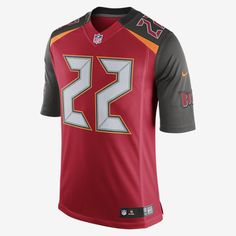 GRIDIRON STYLE. PREMIUM DESIGN. The NFL Tampa Bay Buccaneers Limited Jersey delivers unparalleled fit and style for fans who command attention, at the stadium and on the street. Flywire Strength Flywire strength resists stretch at the neck. Strategic Ventilation Strategic ventilation over major heat zones helps keep you cool. Premium Twill Numbers Highly flexible, embroidered twill numbers offer mobility and premium style. Product Details Tailored fit designed for movement Water-repelling…